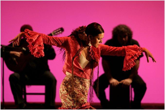 Vystoupení taneční školy Flamenkeria na vaší akci