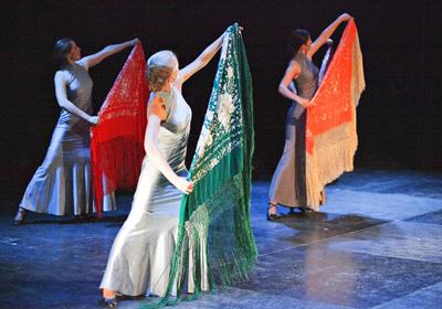 Taneční škola flamenca